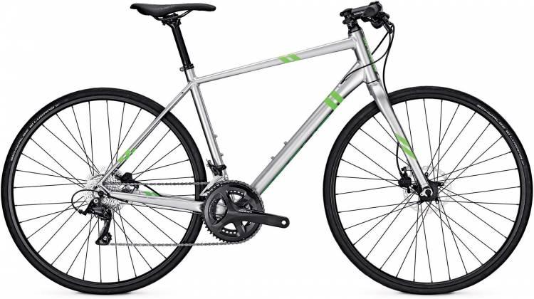 Focus Arriba Sora chromosilver 2017 - Bicicleta Fitness Hombres