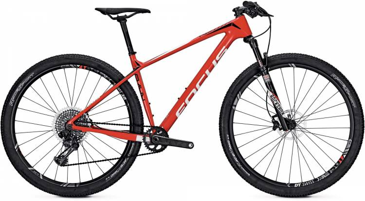 Focus Raven Max Team 29 red/white 2017 - MTB Rígida