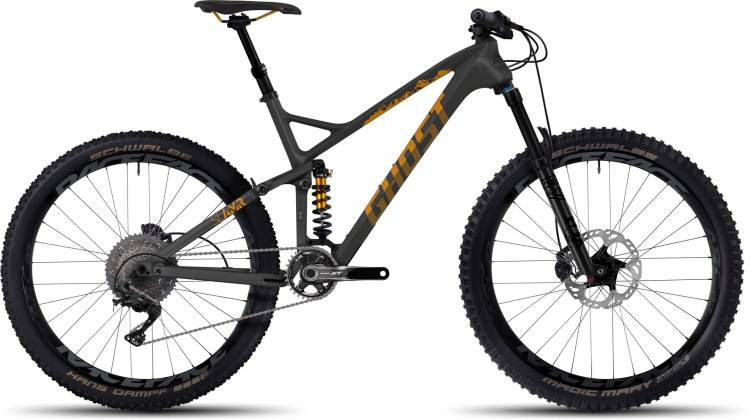 """Ghost SL AMR X 8 LC 27.5"""" 2017"""