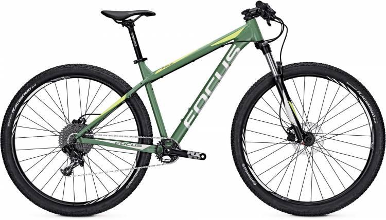Focus Whistler SL 29 mineral green/matt 2017 - MTB Rígida