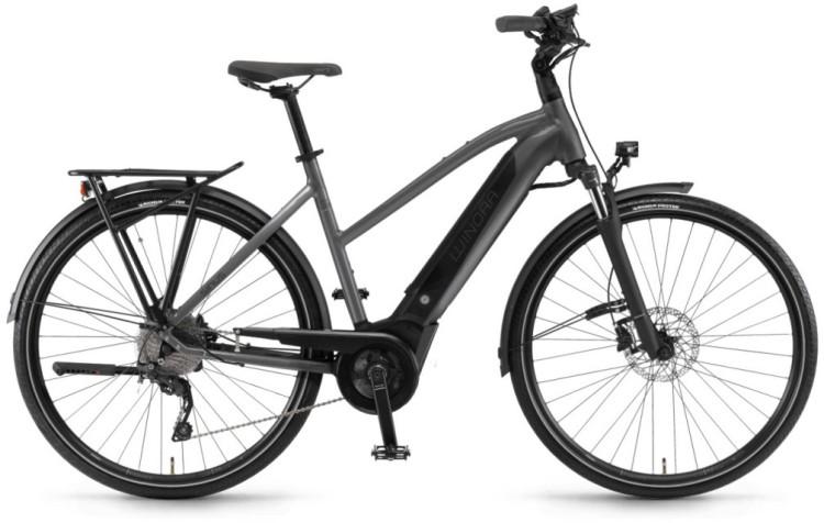 "Winora Sinus i9 500Wh 28"" titan 2020 - Bicicleta-Eléctrica Trekking Damas Trapecio"