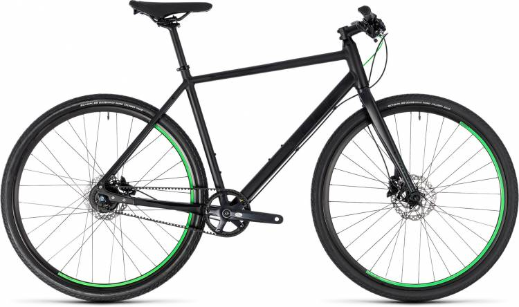 Cube Hyde Race black n green 2018