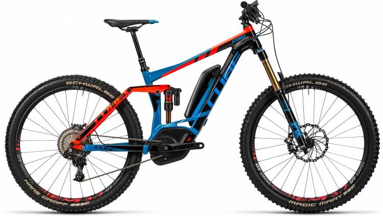 Cube Stereo Hybrid 160 HPA Action Team 500 27.5 2016
