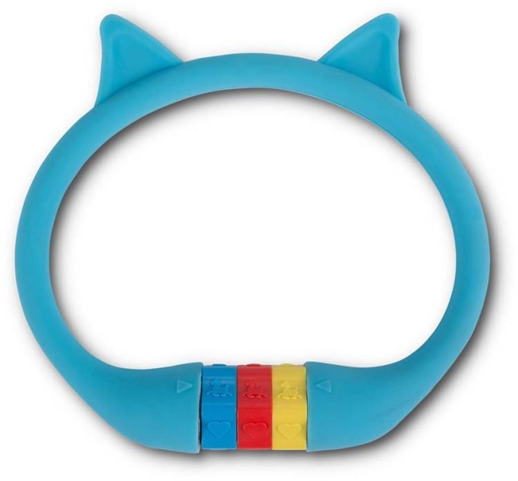 """RFR Número de bloqueo de cable HPS """"CAT"""" 10 x 350 mm azul"""