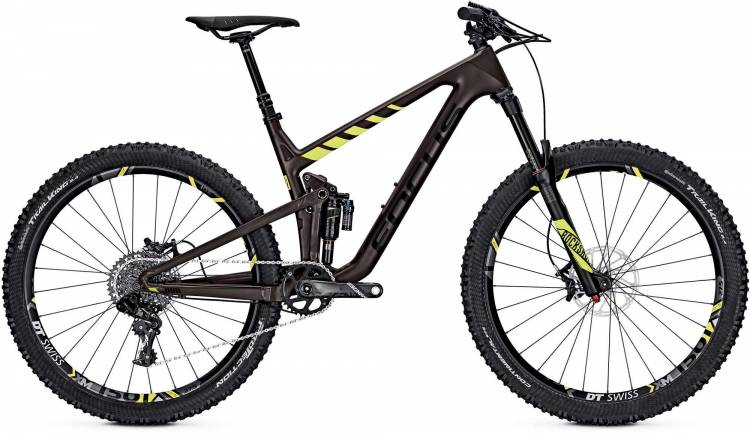 Focus Jam C Factory 27 brown/yellow 2017 - MTB Doble Suspensión