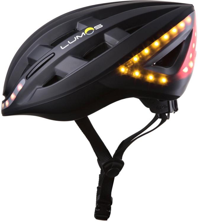 Lumos Klickstart casco de bicicleta con función intermitente