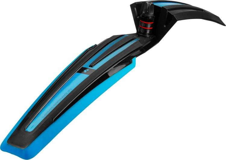 "Cube Cubeguard PERFORMANCE 27.5"" frontal negro y azul"