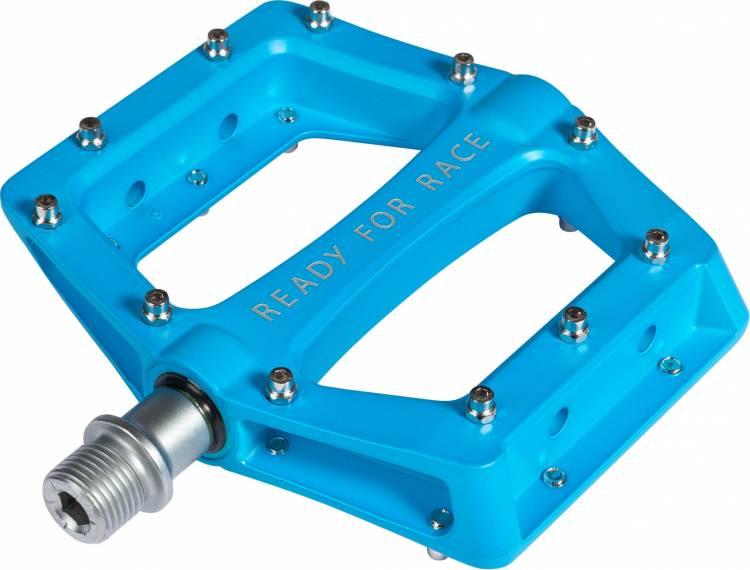 Pedales Cube RFR Flat Race Azul