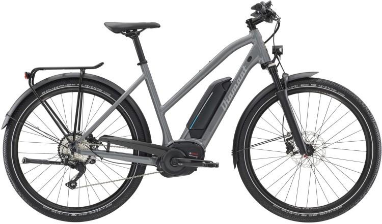 Diamant Elan Legere+ GOR Graphitgrau 2020 - Bicicleta-Eléctrica Trekking Damas