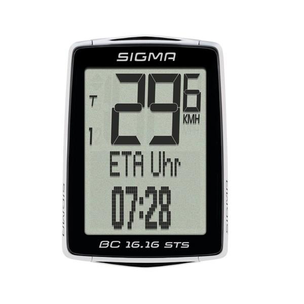Sigma Bicycle Computer BC 16.16 STS negro