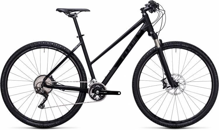 Cube Tonopah SL black edition 2017 - Bicicleta Cross Damas Trapecio