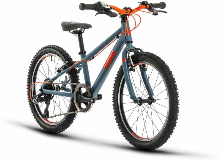 Cube Acid 200 grey n orange 2021 - Bicicleta Niños 20 Pulgadas