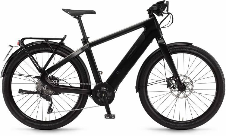 "Winora radar speed 500Wh 27.5"" schwarz matt/metal 2017 - Bicicleta-Eléctrica Fitness Hombres"