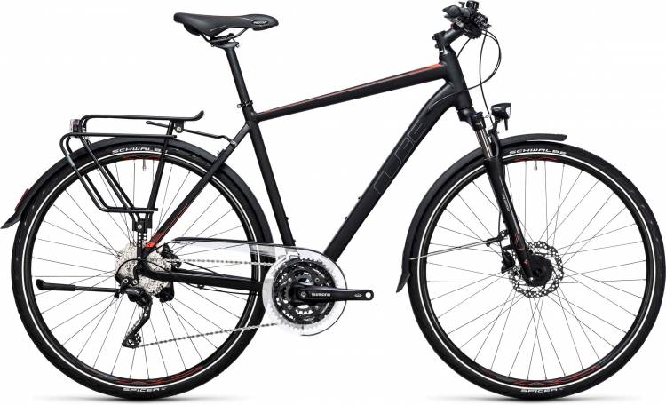 Cube Touring SL black n flashred 2017