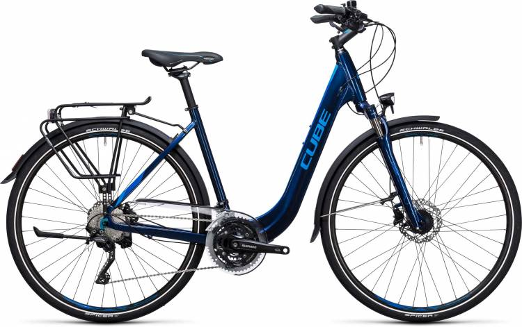 Cube Touring SL blue n blue Easy Entry 2017