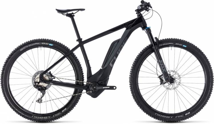 Cube Reaction Hybrid EXC 500 black n grey 2018