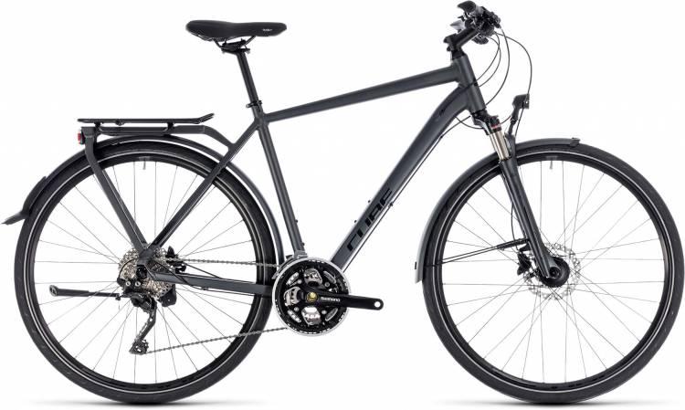 Cube Kathmandu Pro iridium n black 2018 - Bicicleta Trekking Hombres