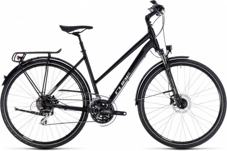 Cube Touring ONE black n grey 2018