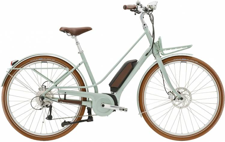 Diamant Juna+ WIE Moreagrün 2020 - Bicicleta-Eléctrica Trekking Damas