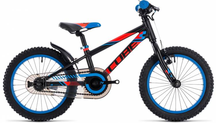 Cube Kid 160 black n flashred n blue 2018