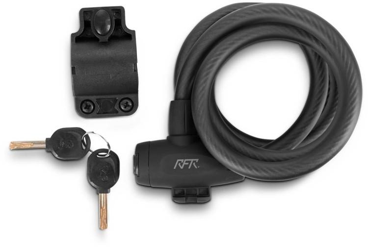 RFR cierre espiral HPP 12 x 1500 mm negro y gris