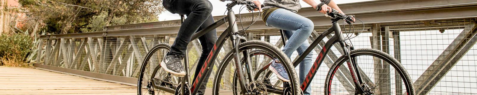 La Ghost Square Cross, una bicicleta para exploradores
