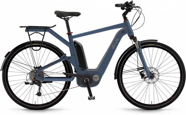 "Sinus Dyo9 500Wh 28"" oceanblue matt 2017 - Bicicleta-Eléctrica Trekking Hombres"