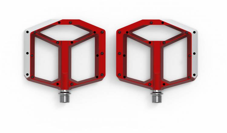 ACID Pedale FLAT A2-IB - red