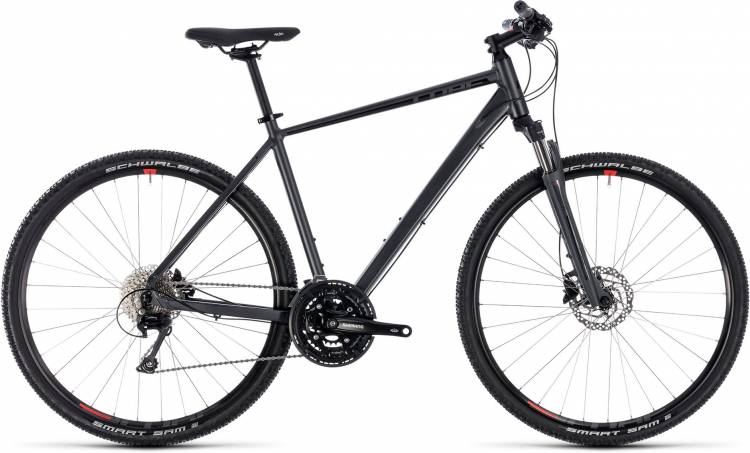 Cube Nature EXC iridium n red 2018 - Bicicleta Cross Hombres