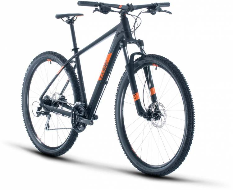 Cube Aim Pro black n orange 2020 - MTB Rígida