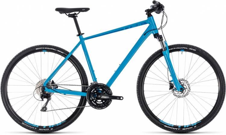 Cube Nature EXC blue n blue 2018 - Bicicleta Cross Hombres