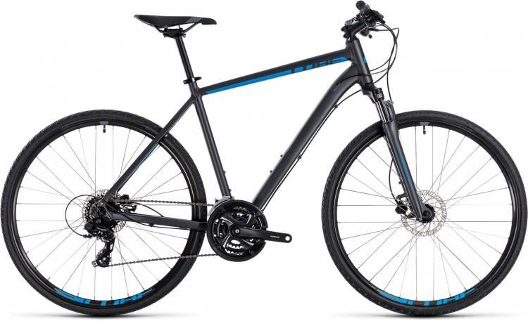 Cube Nature iridium n blue 2018 - Bicicleta Cross Hombres
