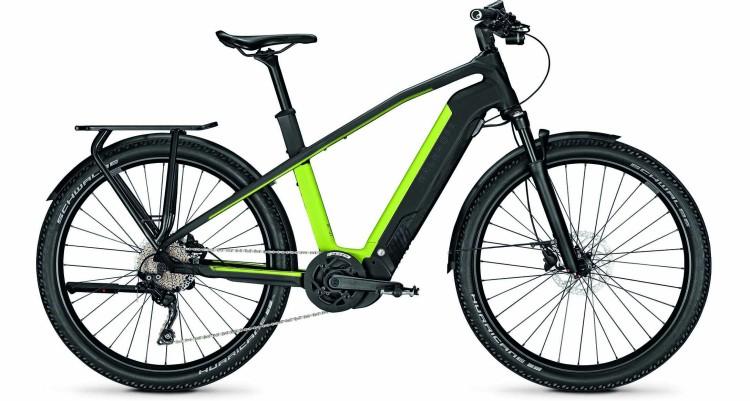 Kalkhoff Entice 7.B Move magicblack/integralegreen matt (Diamond) 2021 - Bicicleta-Eléctrica Trekking Hombres