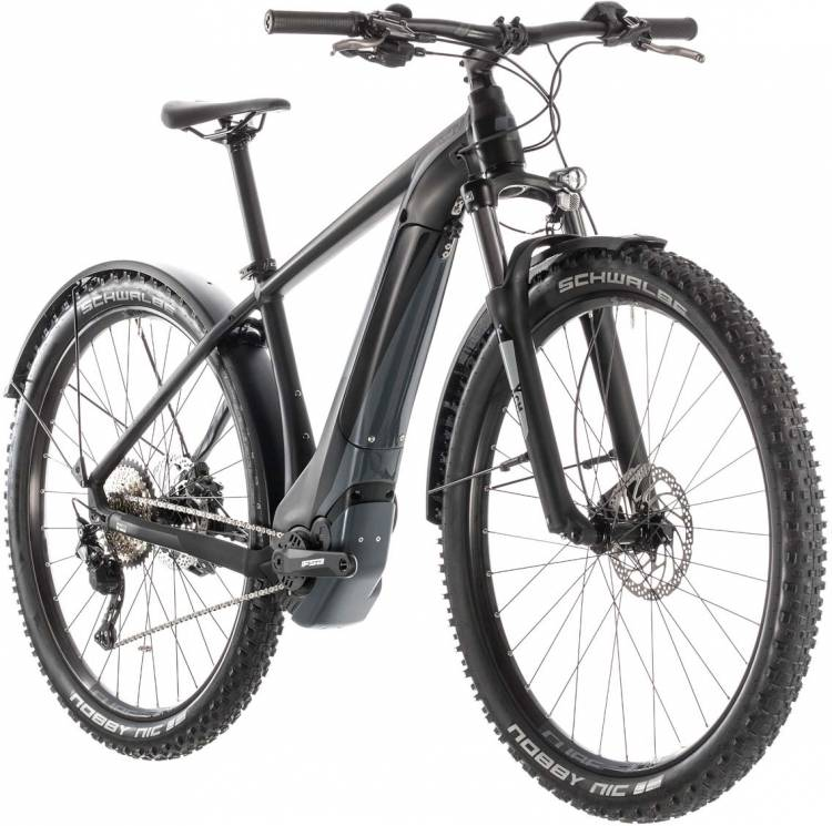 Cube Reaction Hybrid EXC 500 Allroad black n grey 2019