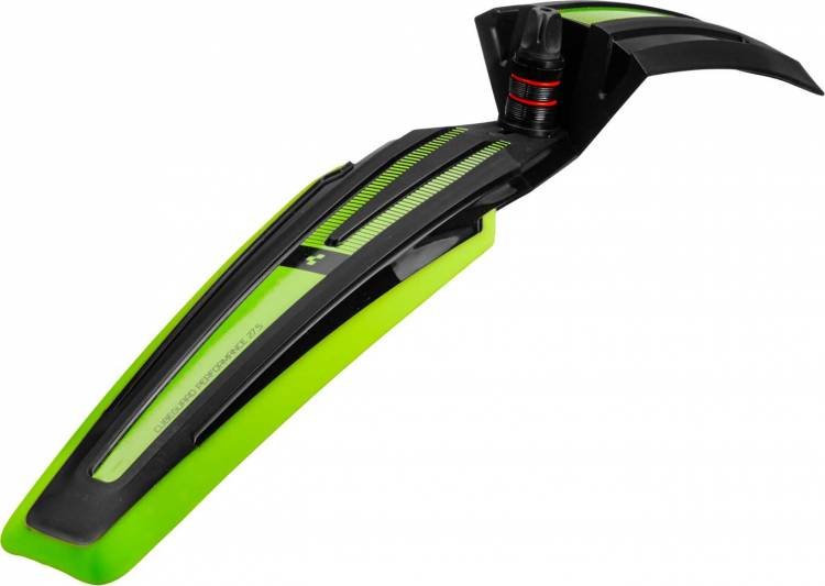 """Cube Cubeguard PERFORMANCE 27.5"""" frontal negro y verde"""