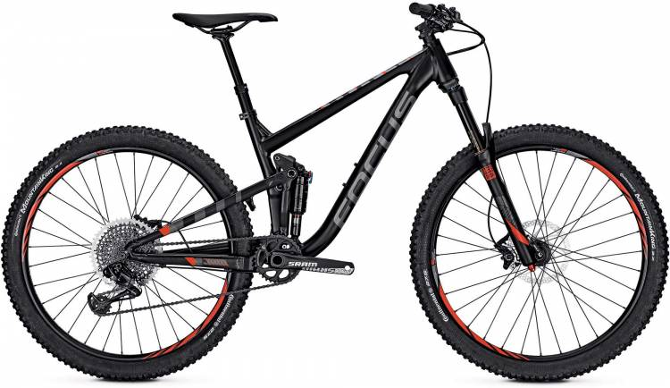 Focus Jam Lite 27 magic black/matt 2017 - MTB Doble Suspensión