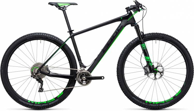 Cube Elite C:68 Race 29 2x carbon n green 2017