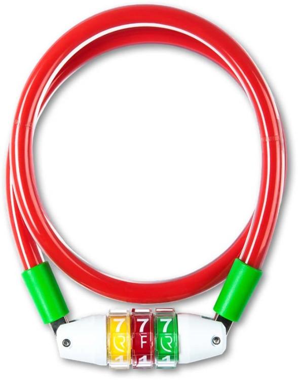 Bloqueo de cable RFR Estilo CMPT rojo n verde