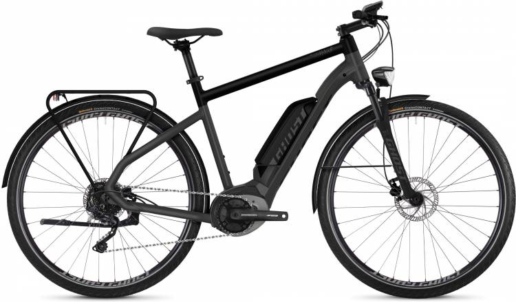 Ghost Hybride Square Trekking B3.8 AL 2019 - Bicicleta-Eléctrica Trekking Hombres