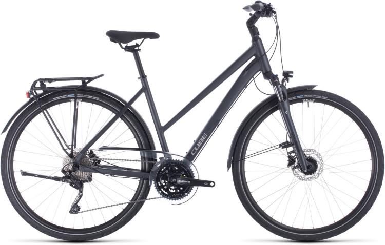 Cube Touring EXC iridium n silver 2020 - Bicicleta Trekking Damas