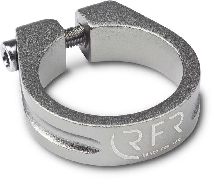 Abrazadera de sillín RFR 34,9 mm gris