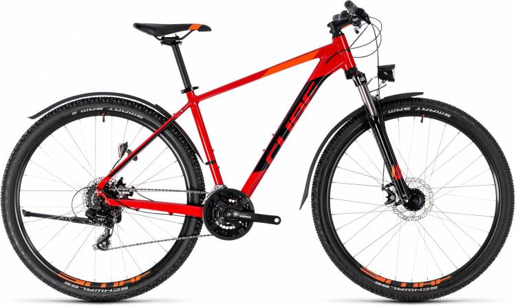 Cube Aim Allroad red n black 2018 - MTB Rígida