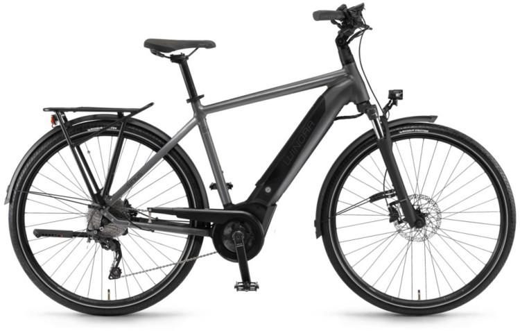"Winora Sinus i9 500Wh 28"" titan 2020 - Bicicleta-Eléctrica Trekking Hombres"