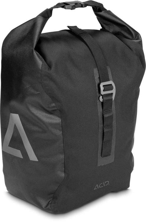 Bolsa para bicicletas ACID TRAVLR 15 negro