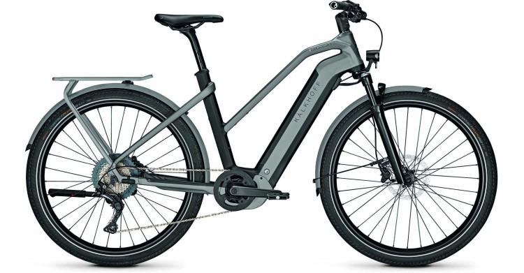Kalkhoff Endeavour 7.B Move magicblack/jetgrey matt (Trapez) 2021 - Bicicleta-Eléctrica Trekking Damas