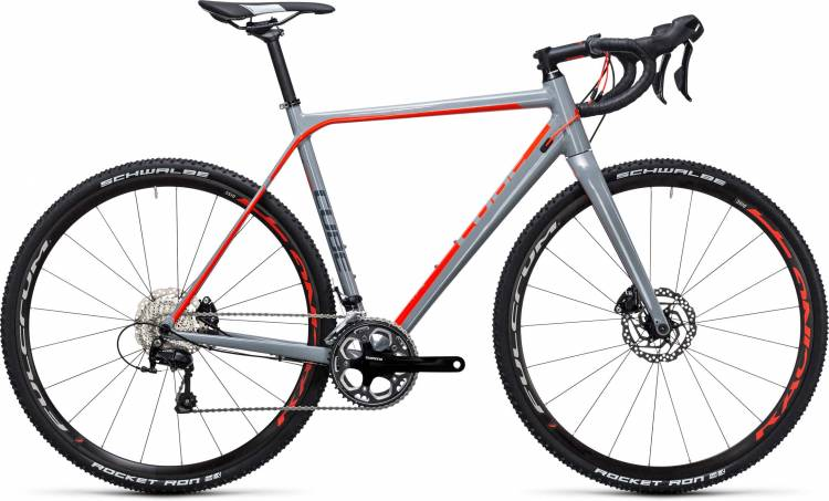 Cube Cross Race Pro grey n flashred 2017 - Bicicleta de Ciclocross