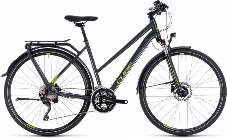 Cube Kathmandu Pro iridium n green 2018 - Bicicleta Trekking Damas Trapecio
