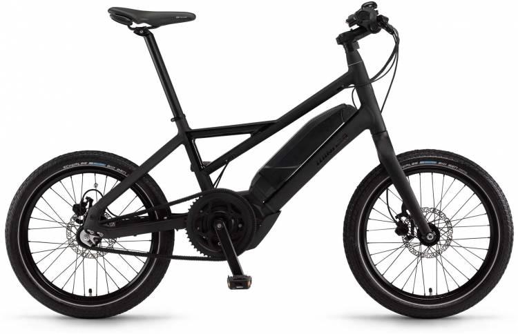 "Winora radius plain 400Wh 20"" 3-G iMotion schwarz matt/glanz 2017 - Bicicleta-Eléctrica Fitness Hombres"