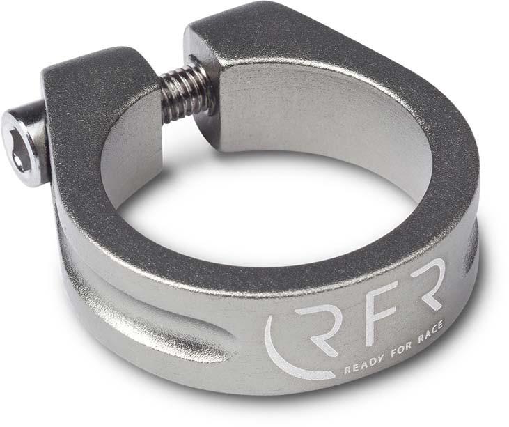 Abrazadera de sillín RFR 31,8 mm gris
