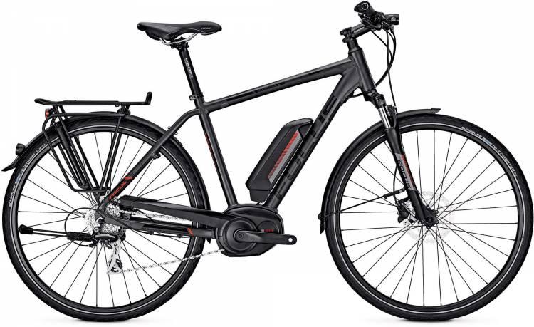 Focus Aventura grey 2017 - Bicicleta-Eléctrica Trekking Hombres